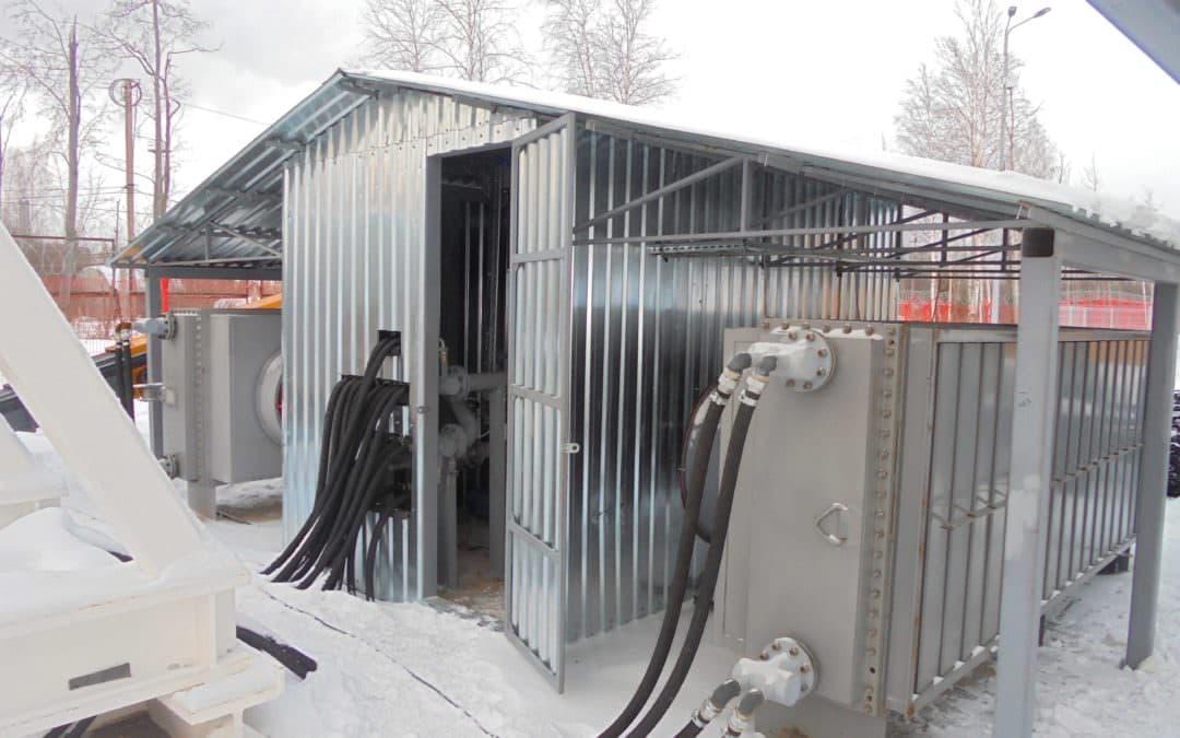 Разработка и изготовление установки охлаждения тормоза главного привода буровой установки