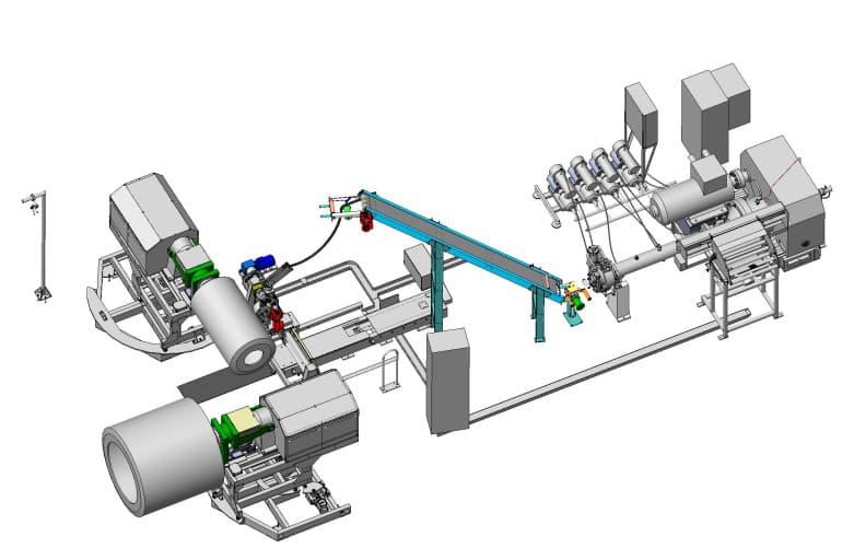 Закончена разработка модернизированного агрегата навивки протектора